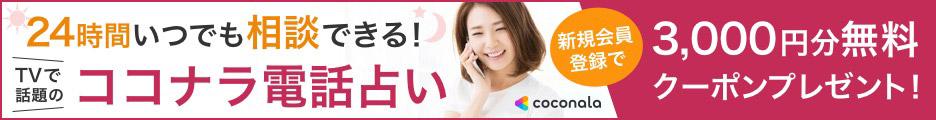 幸せになれる電話占い【ココナラ】