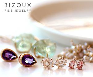 国内最大級・40種類以上の宝石が揃うジュエリーブランド【Bizoux(ビズー)】公式通販